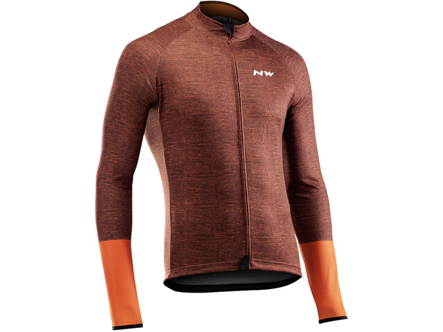 Northwave Blade 3 Longsleeve Jersey Heren, dark orange